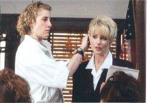 left-Christl Colven, right-Morgan Fairchild (Actress)